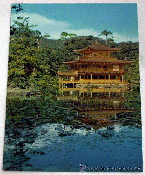 POSTAL JAPÓN THE RECENTHY RESTORED GOLD PAVILLON AÑOS 60 (Postales - Postales Extranjero - Asia)