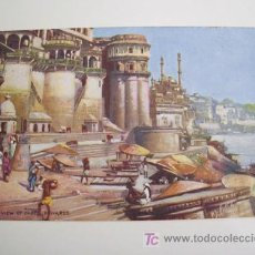 Postales: ANTIGUA POSTAL : GENERAL VIEW OF GHATS - BENARES. RAPHAEL TUCK. 1907. Lote 19365234