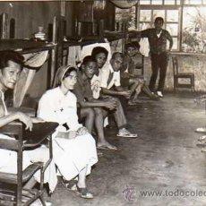 Postales: FOTO TAMAÑO POSTAL. ENFERMERIA. PRISION CARCEL. MANILA. FILIPINAS. SINGER.. Lote 19395241