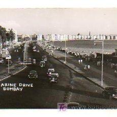 Postales: MARINE DRIVE. BOMBAY. INDIA. . Lote 19789380