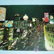Postales: POSTAL VISTA NOCTURNA DE TOKYO. Lote 20114554