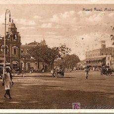 Postales: MADRAS - MOUNT ROAD *VER FOTO ADICIONAL*. Lote 25021528