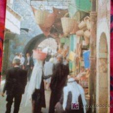 Postales: JERUSALEM-UN BAZAR-ESC Y CIRC EN 1969. Lote 21150012