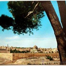 Postales: ISRAEL. JERUSALEN. JORDAN. PANORAMA OF JERUSALEM.. Lote 24473615