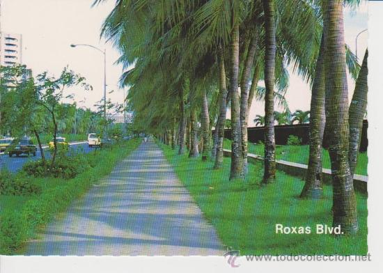 MANILA. (FILIPINAS) . ROXAS BOULEVARD (Postales - Postales Extranjero - Asia)