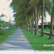 Postales: MANILA. (FILIPINAS) . ROXAS BOULEVARD. Lote 24528382