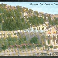 Postales: JERUSALÉN IGLESIA DE GETSEMANÍ NUEVA. Lote 24911278