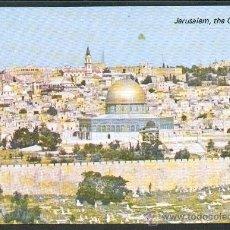 Postales: JESRUSALÉN CIUDAD VIEJA DESDE EL MONTE DE LOS OLIVOS NUEVA. Lote 24911350
