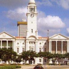 Postales: SINGAPUR VICTORIA MEMORIAL HALL AND VICTORIA THEATRE NUEVA SIN CIRCULAR . Lote 28730905