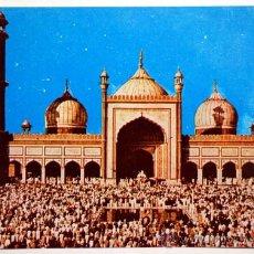 Postales: INDIA. DELHI. JAMA MOSQUE.. Lote 29088093