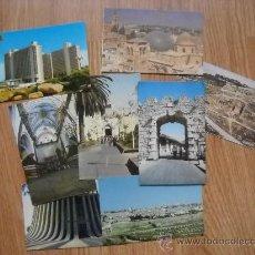 Postales: LOTE 8 POSTALES JERUSALÉN - ISRAEL - AÑOS 60. Lote 29692739