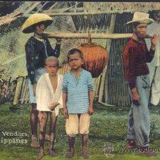 Postales: MANILA (FILIPINAS).- COCOANUT OIL VENDORS. Lote 29696109