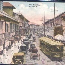Postales: MANILA (FILIPINAS).- THE ESCOLTA. Lote 29696144