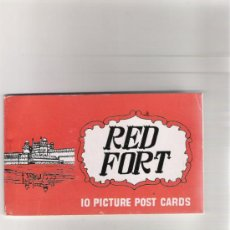 Postales: ALBUM - 10 PICTURE POST CARDS - RED FORT - AÑOS 60/70 . Lote 31015348
