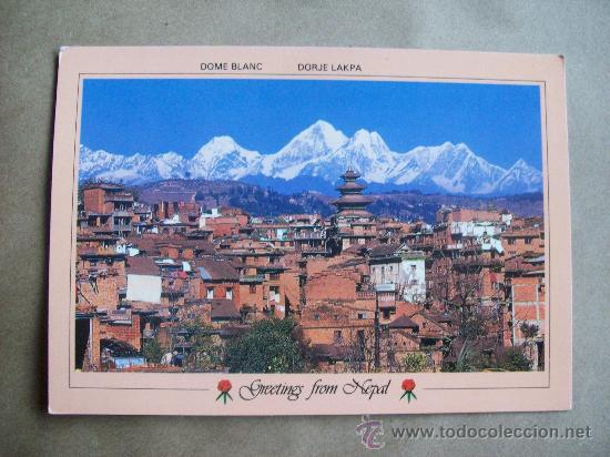 Greetings From Nepal postcard