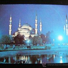 Postales: POSTAL SULTANAHMET CAMII THE BLUE MOSQUE ANKARA, 113. EFES COLOR.. Lote 31996489