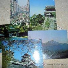 Postales: 5 POSTALES JAPON. Lote 32741773