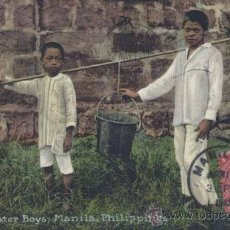 Postales: MANILA (FILIPINAS).- WATER BOYS. Lote 32996087