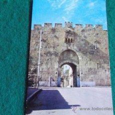 Postales: ISRAEL-V10-NO ESCRITA-ISRAEL-ST STEPHEN'S GATES. Lote 36040554