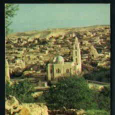 Postales: POSTAL DE JERUSALEN POR EL MONTE DE LOS OLIVOS Y BETFAGUE . Lote 36816526