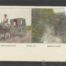 Postales: MANILA - NATIVE CONVERYANCE EGGOROTE PACKERS - MANILA PI - (17343). Lote 39157514