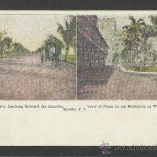 Postales: MANILA - MALACON DRIVE, VIEW OF PLAZA DE LOS MORTALLES - MANILA PI - (17349). Lote 39157691