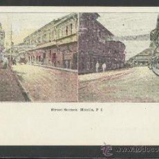 Postales: MANILA - STREET SCENES - MANILA PI - (17342). Lote 39158459