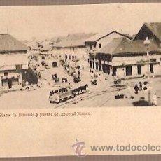 Postales: ANTIGUA POSTAL MANILA PLAZA DE BINOUDO Y PUENTE DEL GENERAL BLANCO. Lote 39768904