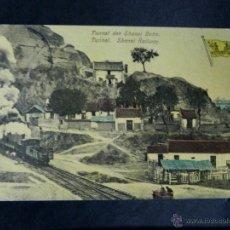 Postales: ANTIGUA POSTAL, EL TUNEL FERROVIARIO DE SHANSI , CIRCULADA. Lote 38276568