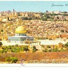 Postales: 7-ISRA1. POSTAL JERUSALEM. VISTA DESDE EL MONTE DE LOS OLIVOS. Lote 42639318