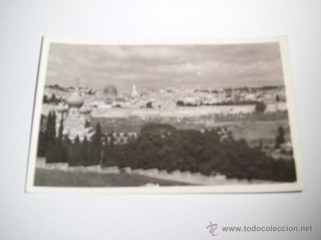 GENERAL VIEW OF JERUSALEM.PHOTO LEON JERUSALEM (Postales - Postales Extranjero - Asia)