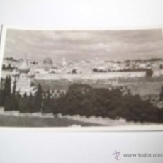 Postales: GENERAL VIEW OF JERUSALEM.PHOTO LEON JERUSALEM . Lote 43908585