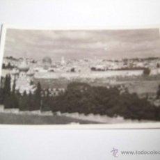 Postales: GENERAL VIEW OF JERUSALEM.PHOTO LEON JERUSALEM . Lote 43908585