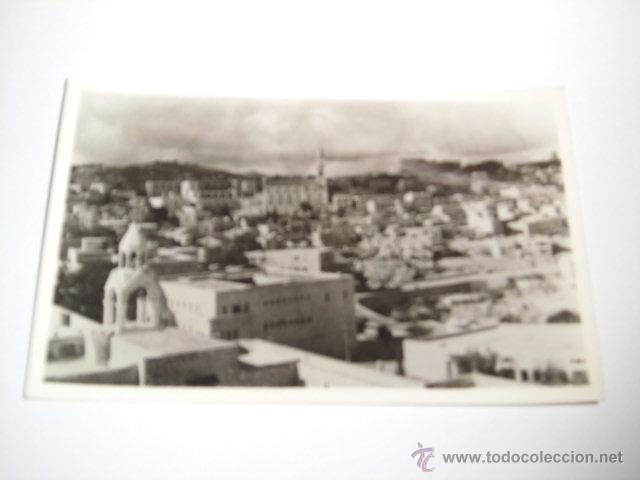 GENERAL VIEW OF BETHLEHEM.PHOTO LEON JERUSALEM (Postales - Postales Extranjero - Asia)