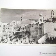 Postales: CHURCH OF THE NATIVITY EXT..PHOTO LEON JERUSALEM. Lote 43908790