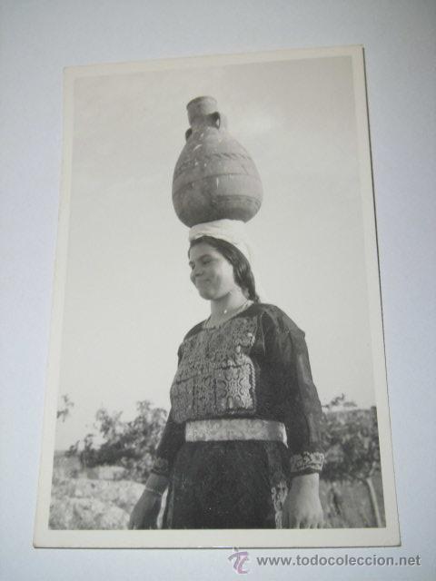 RAMALLAH WOMAN.-PHOTO LEON JERUSALEM (Postales - Postales Extranjero - Asia)
