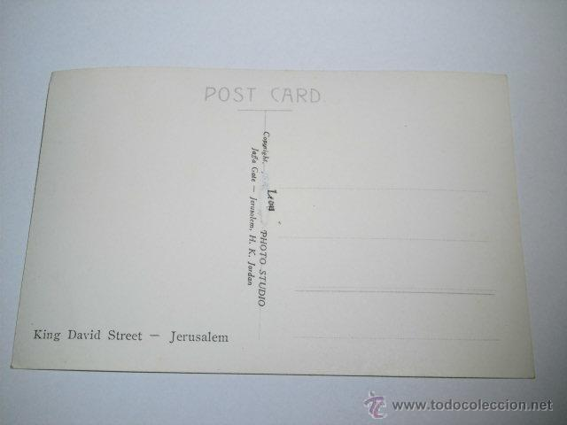 Postales: KING DAVID STRRET.-PHOTO LEON JERUSALEM - Foto 2 - 43909679