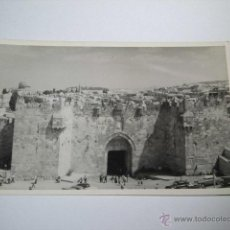 Postales: DAMASCUS GATE -PHOTO LEON JERUSALEM. Lote 43909780