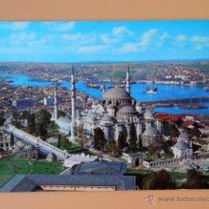 Postales: SÜLEYMANIYE (1557) VE HALIÇ. ISTANBUL. TÜRKIYE - 49 - DIVERSOS AUTORES. Lote 44198658