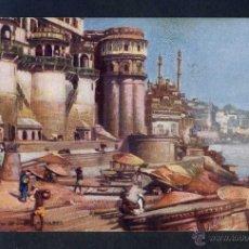 Postales: INDIA. BENARES. *GENERAL VIEW OF GHATS* ED. TUCK SERIE Nº 7239. NUEVA.. Lote 44788888
