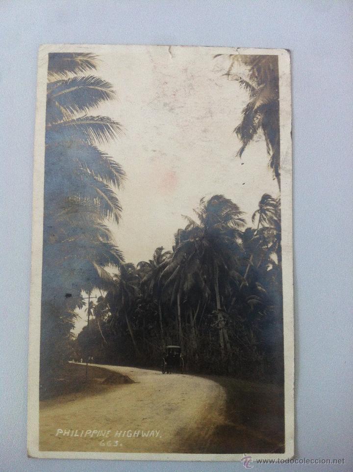 ANTIGUA POSTAL -PHILIPPINE HIGHWAY 663. - CIRCULADA - ESCRITA - BUEN ESTADO - (Postales - Postales Extranjero - Asia)