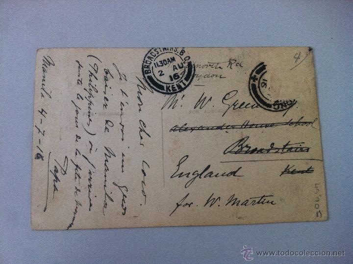 Postales: ANTIGUA POSTAL -PHILIPPINE HIGHWAY 663. - CIRCULADA - ESCRITA - BUEN ESTADO - - Foto 2 - 45333960