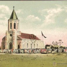 Postales: GOSSNERSCHE MISSION IN CHOTA NAGPUR (INDIA), KIRCHE IN KINKEL - SIN CIRCULAR. Lote 45535244