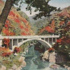 Postales: Nº 15120 POSTAL VIEWS OF BRIDGE NAGATORO AND FOREST TENJIN JAPON. Lote 46011911