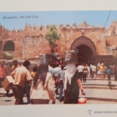 Postales: JERUSALEM: OLD CITY VIEW TO DAMASCUS GATE. Lote 46463009