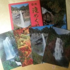Postales: PAQUETE POSTAL NIKKO WATER FALLS (JAPÓN). Lote 46531065