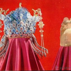 Postales: CHINA MUSEO TMBAS MING GOLD CROWN POSTAL NO CIRCULADA. Lote 47472687