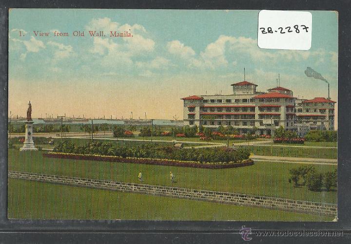 MANILA - FILIPINAS - (ZB-2287) (Postales - Postales Extranjero - Asia)