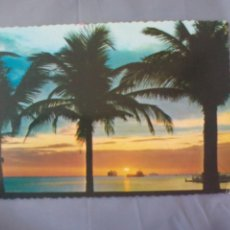 Postales: POSTAL. CIRCULADA DE FILIPINAS. 1985 SUNSET AT THE BAY. ROXAS BOULEVAR MANILA PHILIPPINES. PILIPINAS. Lote 49983247