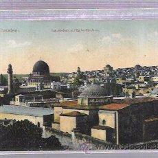 Postales: TARJETA DE JERUSALEM. VUE GÉNÉRALE ET EGLISE STE ANNE.. Lote 53215587